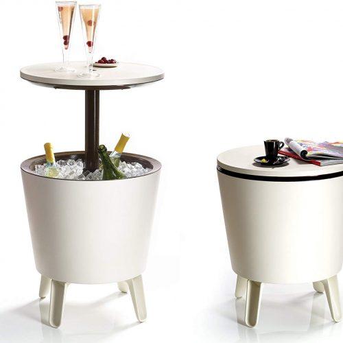 mesa fiesta nevera integrada